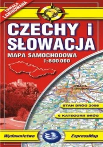 Okładka książki Czechy i Słowacja. Mapa laminowana (Comfort! Map)
