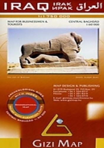 Okładka książki Irak. Mapa