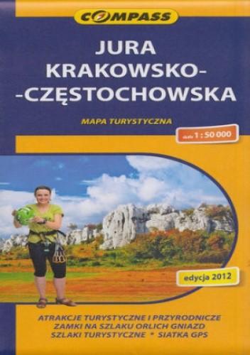 Okładka książki Jura Krakowsko-Częstochowska. Mapa Compass 1:50 000
