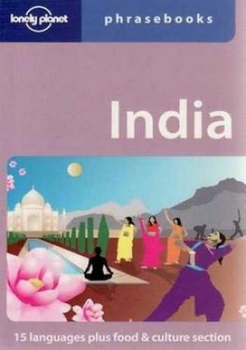 Okładka książki India. Phrasebook Lonely Planet