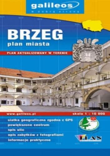 Okładka książki Brzeg. Plan miasta [Galileos]
