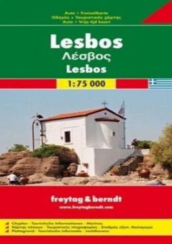 Okładka książki Lesbos. Mapa samochodowa