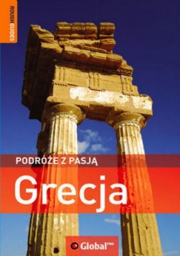 Okładka książki Grecja. Podróże z pasją. Przewodnik Rough Guides (Global)
