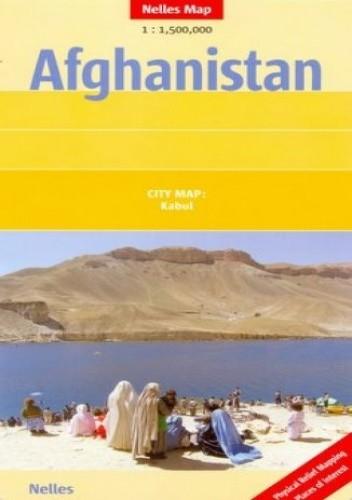 Okładka książki Afganistan. Mapa