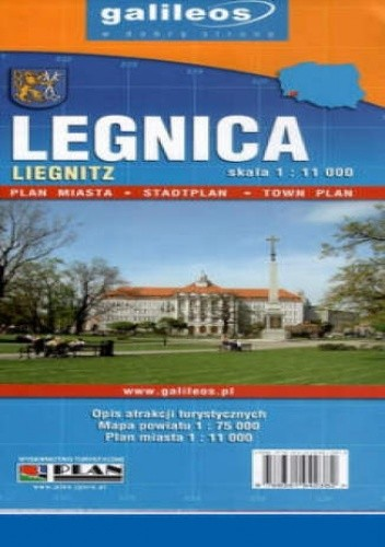 Okładka książki Legnica. Plan miasta [Galileos]
