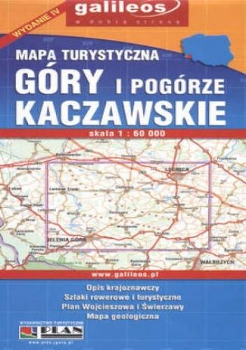 Okładka książki Góry i Pogórze Kaczawskie. Mapa turystyczna [Galileos]