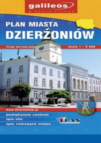 Okładka książki Dzierżoniów. Plan miasta [Galileos]