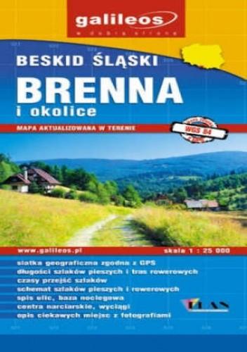 Okładka książki Brenna i okolice. Mapa [Galileos]