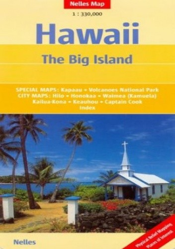 Okładka książki Hawaje. Mapa