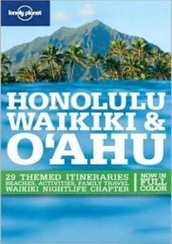 Okładka książki Honolulu, Waikiki. Przewodnik Lonely Planet