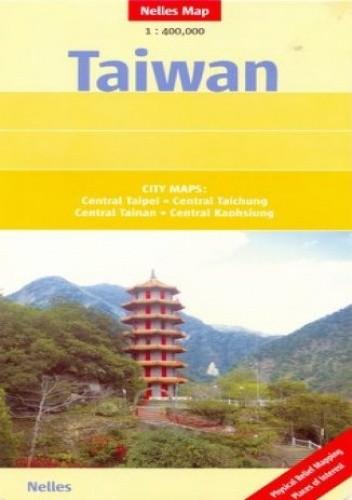 Okładka książki Tajwan. Mapa