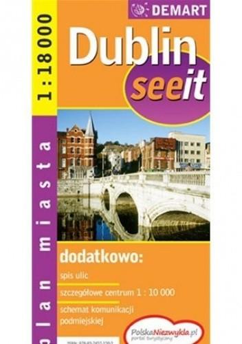 Okładka książki Dublin. Plan miasta (See it)