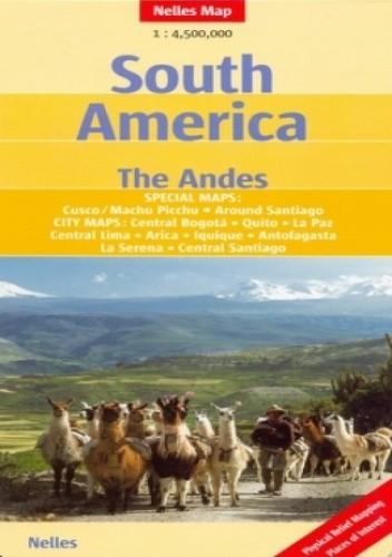 Okładka książki Ameryka Południowa. Andy. Mapa