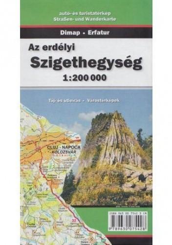 Okładka książki Góry Apuseni. Mapa turystyczna Szarvas