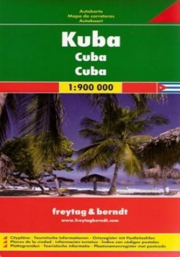 Okładka książki Kuba. Mapa samochodowa