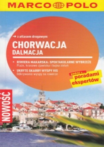 Okładka książki Chorwacja (Dalmacja). Przewodnik Marco Polo