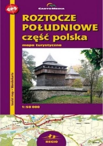 Okładka książki Roztocze Południowe. Mapa turystyczna