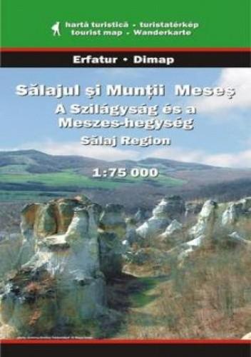 Okładka książki Region Salaj, Góry Meses. Mapa turystyczna