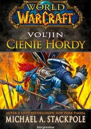 Okładka książki World of Warcraft: Vol'Jin Cienie Hordy