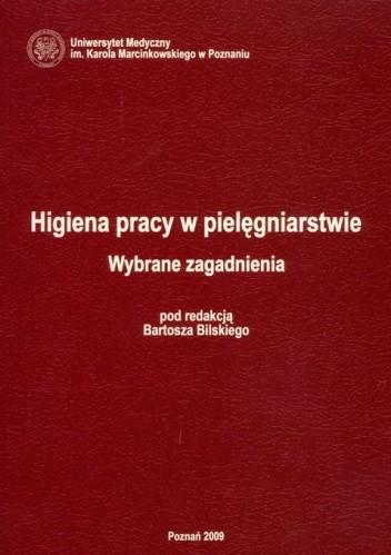 Okładka książki Higiena pracy w pielęgniarstwie