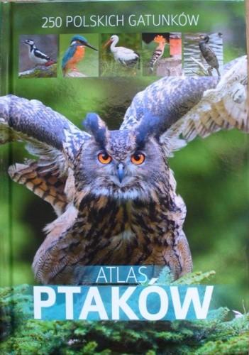 Okładka książki Atlas ptaków. 250 polskich gatunków