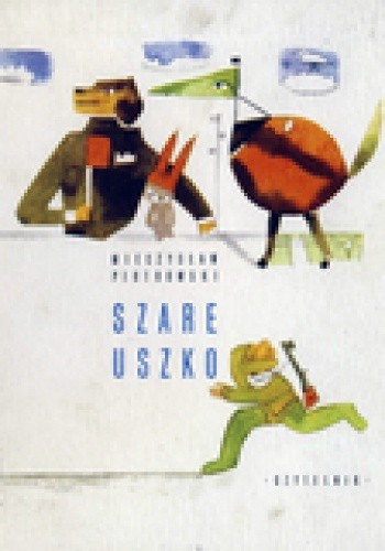 Okładka książki Szare uszko