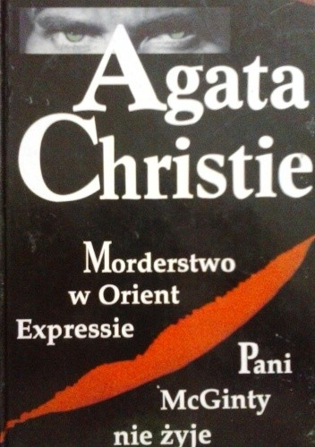 Okładka książki Morderstwo w Orient Expressie; Pani McGinty nie żyje