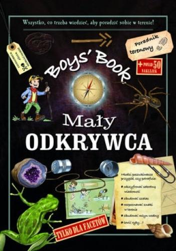 Okładka książki Boys' Book. Mały odkrywca