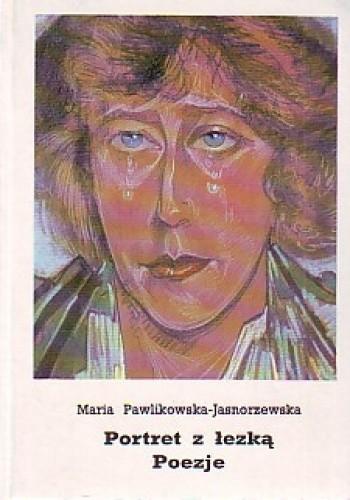 Okładka książki Portret z łezką. Poezje