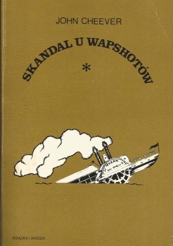 Okładka książki Skandal u Wapshotów