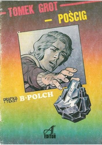 Okładka książki Tomek Grot. Pościg