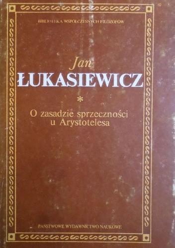 Okładka książki O zasadzie sprzeczności u Arystotelesa