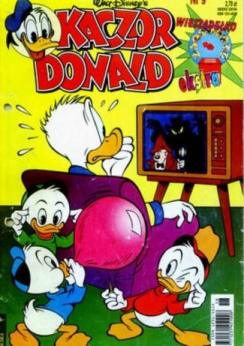 Okładka książki Kaczor Donald 9/1997
