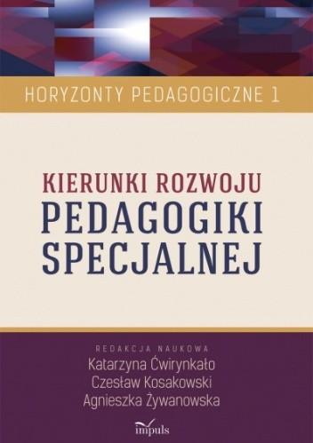 Okładka książki Kierunki rozwoju PEDAGOGIKI SPECJALNEJ
