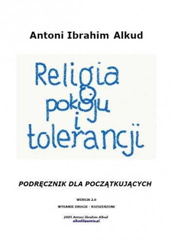 Okładka książki Religia pokoju i tolerancji