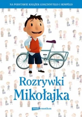Okładka książki Rozrywki Mikołajka