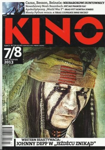 Okładka książki Kino, nr 7-8 / lipiec-sierpień 2013
