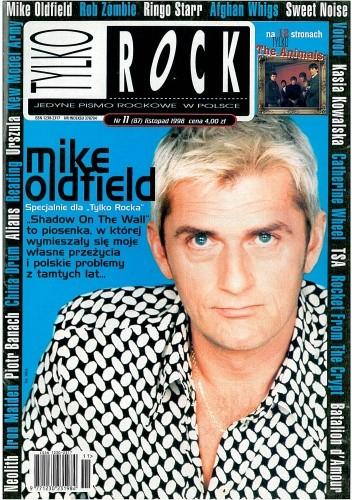 Okładka książki Tylko Rock, nr 11 (87) / 1998