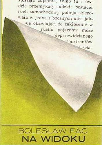 Okładka książki Na widoku