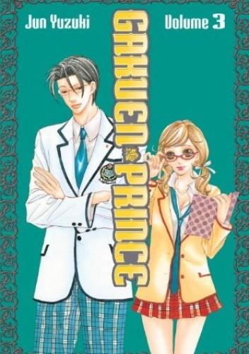 Okładka książki Gakuen Prince 3