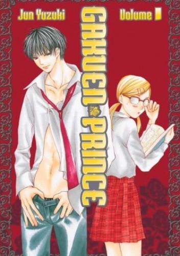 Okładka książki Gakuen Prince 1
