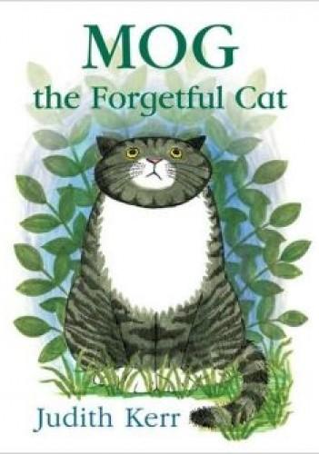 Okładka książki Mog the Forgetful Cat