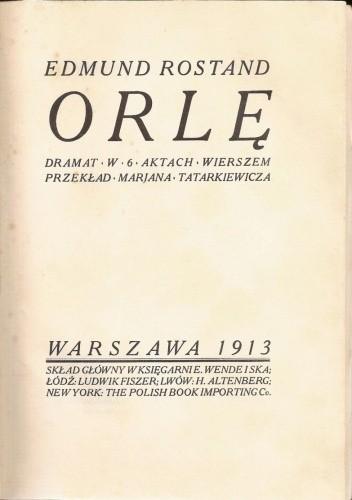 Okładka książki Orlę