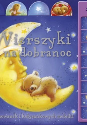 Okładka książki Wierszyki na dobranoc