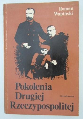 Okładka książki Pokolenia Drugiej Rzeczypospolitej
