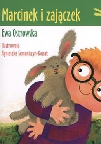 Okładka książki Marcinek i zajączek.