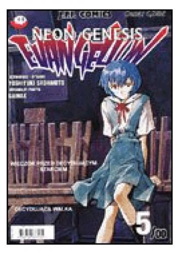 Okładka książki Neon Genesis Evangelion 5/00:
