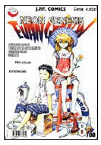 Okładka książki Neon Genesis Evangelion 8/00: