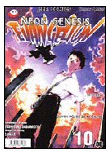 Okładka książki Neon Genesis Evangelion 10/00: