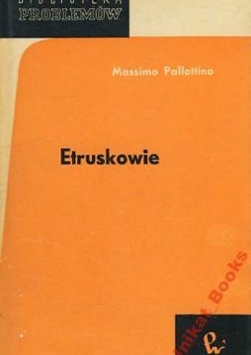 Okładka książki Etruskowie